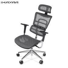 Swivel Computer Desk Ikayaa De Stock Mesh Ergonomic Office Chair Swivel Computer Desk
