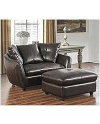 spectacular deal on milano oversized chair and storage ottoman