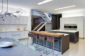 Modern Kitchen With Island Wood Kitchen Islands With Seating Designs Ideas And Decors