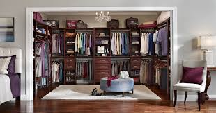 Wardrobe Layout Awesome Brown Walk In Closet Layout Featuring L Shape Closets
