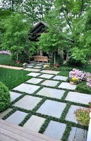 Paved Garden Ideas Paver Landscape Ideas Tub Enclosure Ideas Tub Landscaping