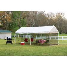 shelterlogic 10x20 canopy screen house kit black