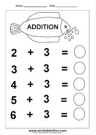 addition worksheets 1 10 worksheets