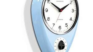 designer kitchen clocks how to create kitchen clocks timers for your apartment literates