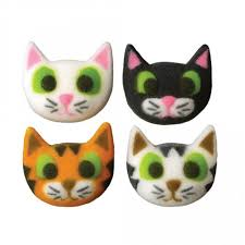 cat cake topper cupcake decorations cat collection bulk box 96