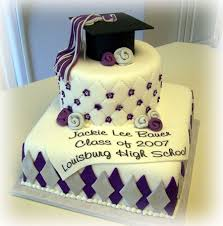 graduation cakes purple and silver graduation cake cakecentral