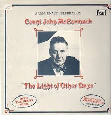 the light of other days popsike com lp count john mccormack the light of other days near