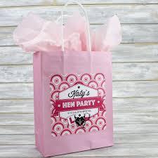 Designerk Hen Personalised Hen Party Bag Gift Favour Empty Circle Design