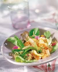 cuisiner le merou recette salade de poissons crus boulghour et fleurs comestibles