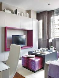 Living Room Ideas Small Space by Small Apartment Living Room Rectangular Brown Finish Oak Ikea