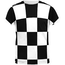 Flag T Shirt Finish Line Checkered Flag All Over T Shirt U2013 Oldglory Com
