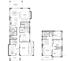narrow lot 2 story house plans narrow lot double storey house designs perth apg homes