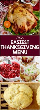 the easiest thanksgiving menu wine glue