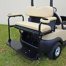 club car precedent rear seat kit golf cart rear seat kit flip