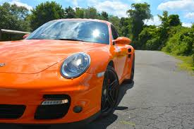 Porsche 911 Orange - 2007 porsche 911 turbo in orange hunting ridge motors