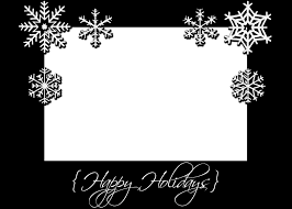 christmas card templates free black and white template idea