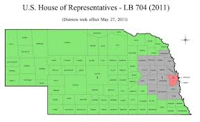 Nebraska State Map by Nebraska District 2 Map Afputra Com