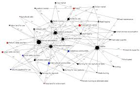 Cognitive Map Fig 3 Network Visualization Of The Augmented Fcm Node Size