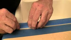 how to caulk a sink backsplash how to caulk a kitchen sink youtube