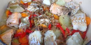 recette cuisine baeckoff baeckeoffe aux poissons facile recette sur cuisine actuelle