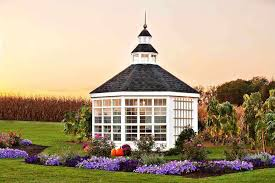 Garden Shed Greenhouse Plans Little Cottage Company 12x12 Octagon Garden Shed Greenhouse Free
