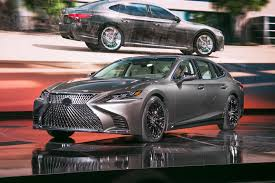 lexus or acura sedan 2018 lexus ls first look automobile magazine