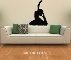 online get cheap bedroom decor women aliexpress com alibaba group mad world girl hindu indian dancing woman wall art sticker art home decoration wall decal