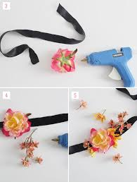 how to make wrist corsages diy silk flower corsage