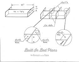 how to make a built in bed using kitchen cabinets