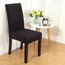 housses de chaises extensibles 6 pièces housses de chaises extensibles protection revêtement pour