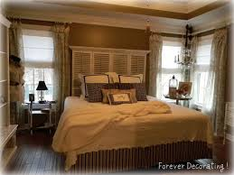 bedroom style colour scheme idea with white orange wall sweet