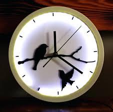 mermaid wall clock u2013 digiscot