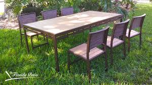 Wooden Outdoor Patio Furniture by Eco Wood Outdoor Patio Furniture U2013 Florida Patio Outdoor Patio