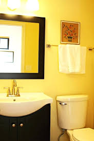 black bathroom decorating ideas yellow and black bathroom traditional bathroom 5 yellow and black