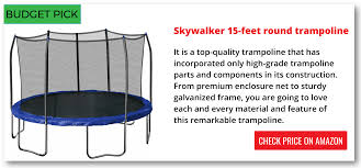 best trampoline with enclosure trampoline for your health
