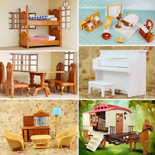 Doll House Bunk Bed Bed Doll House Furniture Ebay
