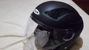 Helm Catok unboxing and review helm halfface zeus 610 indonesia