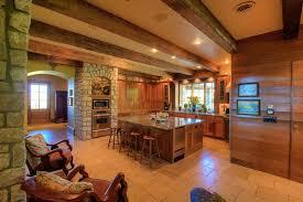 Rustic Oak Kitchen - 29 custom solid wood kitchen cabinets designing idea