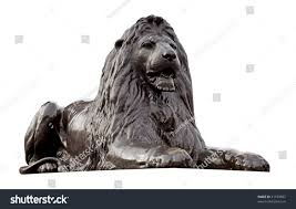 metal lion sculpture metal sculpture lion isolated on white stock photo 41559607