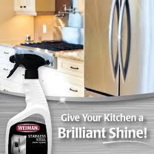 amazon com weiman stainless steel cleaner u0026 polish 12 fl oz