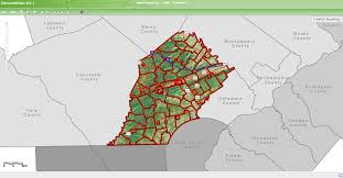 Map Of Counties In Pa Gis Chescoviews Chester County Pa Official Website
