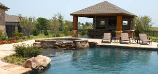 backyard designs with pool and outdoor kitchen dallas outdoor living gallery frisco outdoor kitchen plano