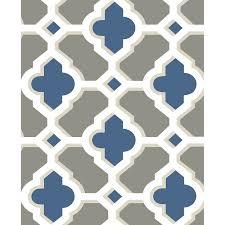 blue quatrefoil wallpaper a street prints lido quatrefoil wallpaper 2744 24122 products