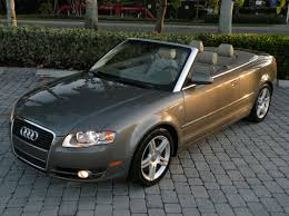audi a4 2007 convertible 2007 audi a4 convertible for sale auto haus of fort myers florida