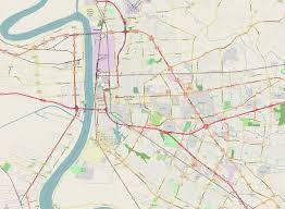 Map Of Baton Rouge Hd World Maps