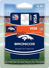 Minnesota Prepaid Travel Card images Nfl fans show your support with new team visa prepaid cards jpg