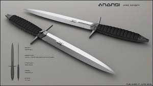 Obsidian Kitchen Knives Anansi By Peterku On Deviantart