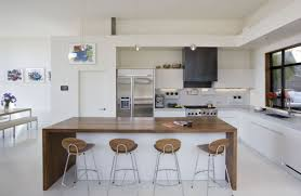 open kitchen ideas kitchen trendy modern apartment with artsy wall also open plan