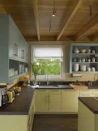 green base cabinets in kitchen 35 two tone kitchen cabinets to reinspire your favorite spot
