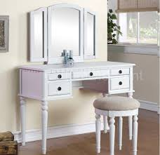 Ikea Vanity Table Bedroom Masculine White Ikea Vanity Set With Folding Mirror